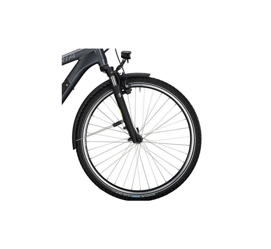 eManufaktur 9.5 elektrische fiets 8V Mat Zwart - 500Wh