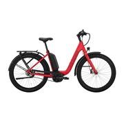 Victoria  eUrban 11.8 E Bike dames traffic mat rood Bosch 500 Wh