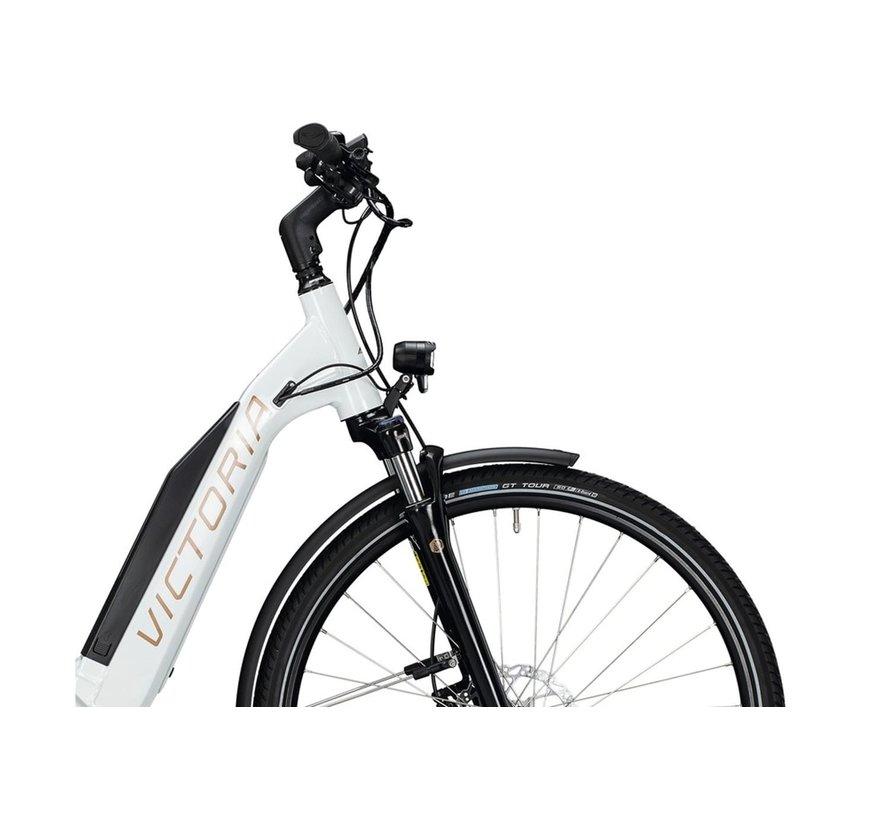 eTrekking 10.9 E Bike dames wit Bosch 500 Wh