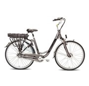 Vogue  Basic e-bike dames 3V - Mat Grijs