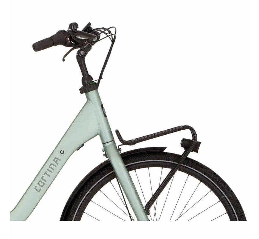 e-Common damesfiets Aqua Groen RB7 - Middenmotor