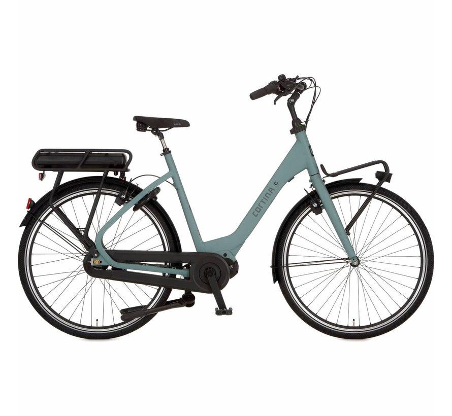 e-Common damesfiets Groen HB8 - Middenmotor