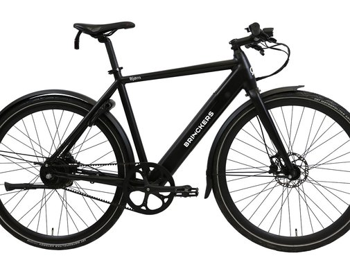 Brinckers Bjorn R1 elektrische fiets Mat Zwart - Belt