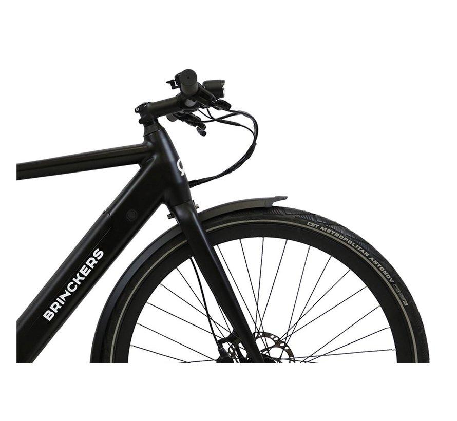 Bjorn R1 E-Bike Herenfiets 28 Inch Mat Zwart - BELT 1V 374Wh