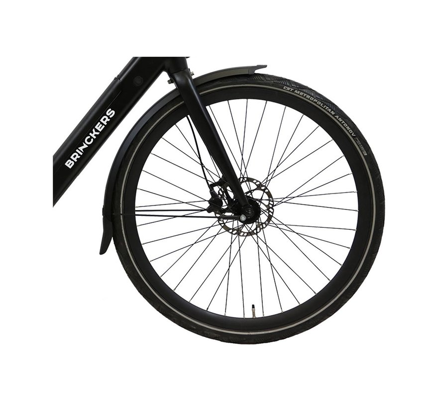 Bjorn R1 elektrische fiets Mat Zwart - Belt