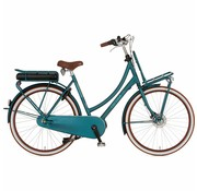 Cortina  E-U4 damesfiets Irish Blue Matt RB8 - Middenmotor
