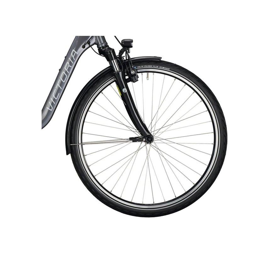 eTrekking 5.5 E Bike dames grijs Bosch 300 Wh