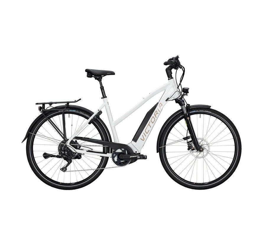 eTrekking 10.9 elektrische fiets 11V Wit Bosch 500 Wh