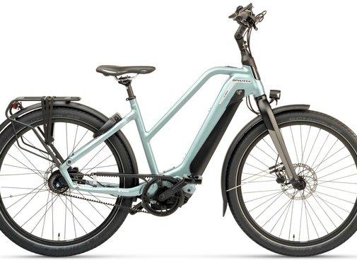 Sparta  d-Burst M8TB elektrische fiets 8V Silvergreen - Smart
