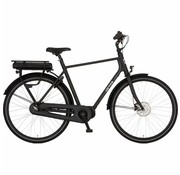Cortina  e-Foss herenfiets Black Matt N8 Middenmotor