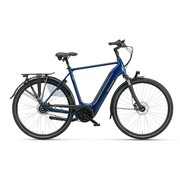 Batavus  Finez E-go elektrische fiets Belt 8V Blauw - Power exclusive