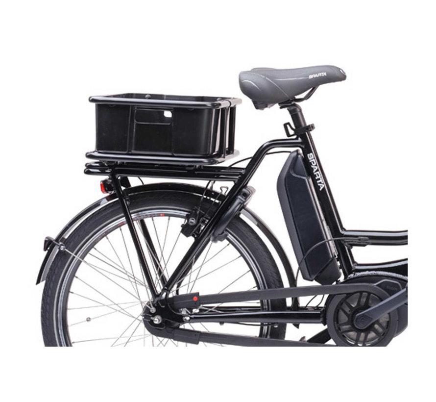 Cargo Delivery - Elektrische bezorgfiets 7 Speed Zwart