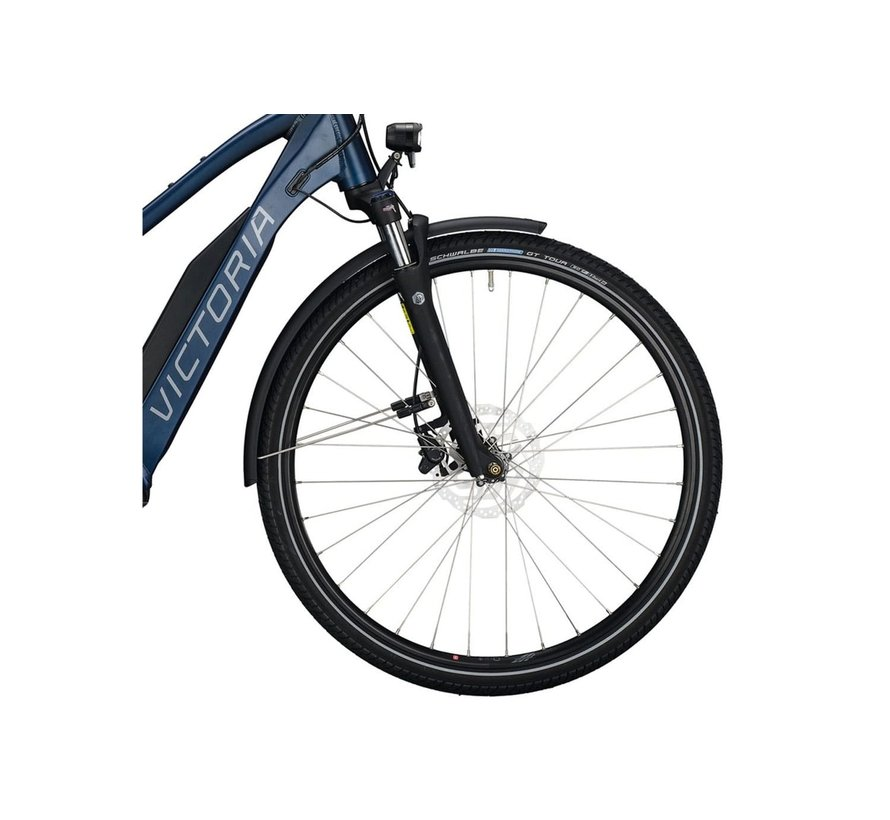 eTrekking 10.8  elektrische fiets 10V Denim Mat - 500Wh