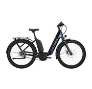Victoria  eUrban 13.8 elektrische fiets 5V Blauw Antreciet - Belt 500Wh