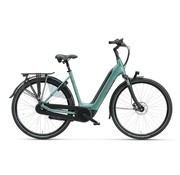 Batavus  Finez E-go elektrische fiets 8V Petrol Zilver - Power