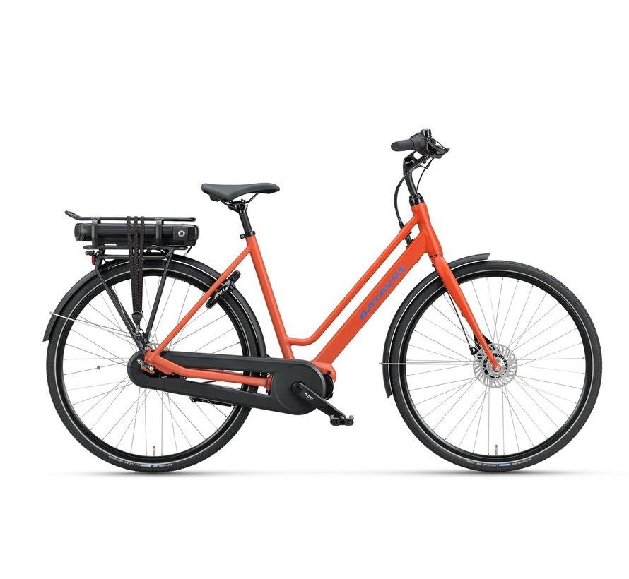 Fonk E-go elektrische fiets 7V Rood Mat - Plus