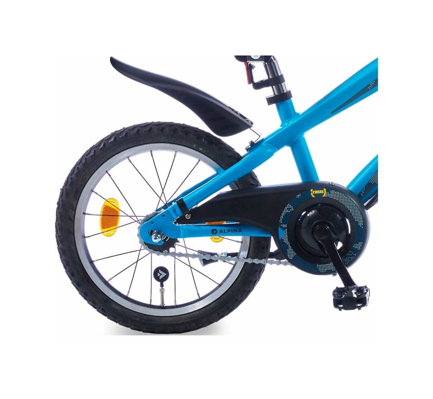 Trial Active Blue Matt 18 inch jongensfiets