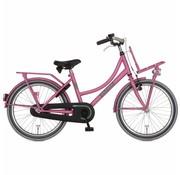 Alpina  Cargo meisjesfiets  20 inch Fuchsia Pink Matt