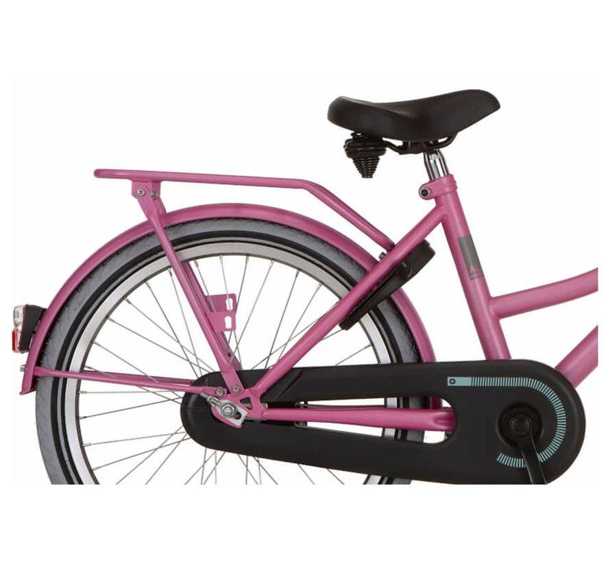 Cargo meisjesfiets  20 inch Fuchsia Pink Matt
