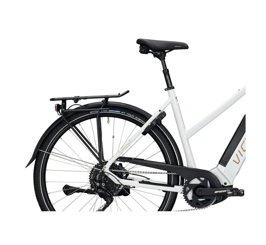 eTrekking 10.9 elektrische fiets Wit - 500Wh