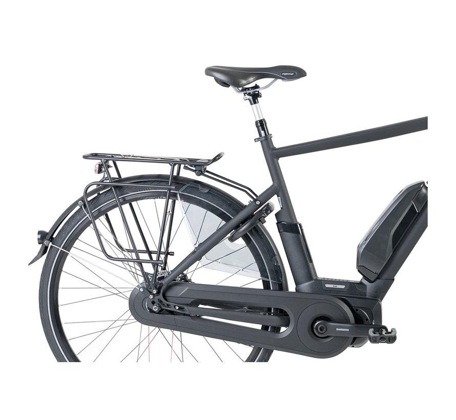 Street elektrische fiets Mat Zwart - middenmotor