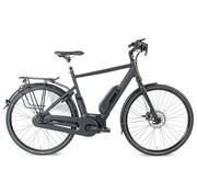 Kymco Street elektrische fiets Mat Zwart - middenmotor