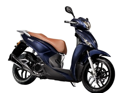 Kymco Scooter New People S 45Km Deep Blue