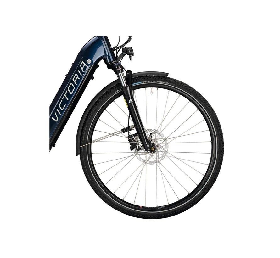 eTrekking 12.9 elektrische fiets blauw Bosch 625 Wh