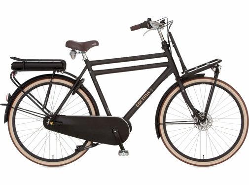 Cortina  E-U4 elektrische fiets 8V Jet Black Matt