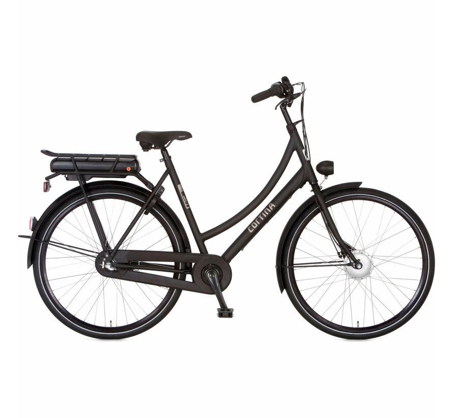 E-U1 elektrische fiets 3V Mat Zwart