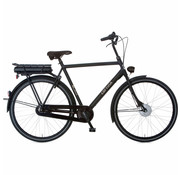 Cortina  E-U1 elektrische fiets Mat Zwart 3V