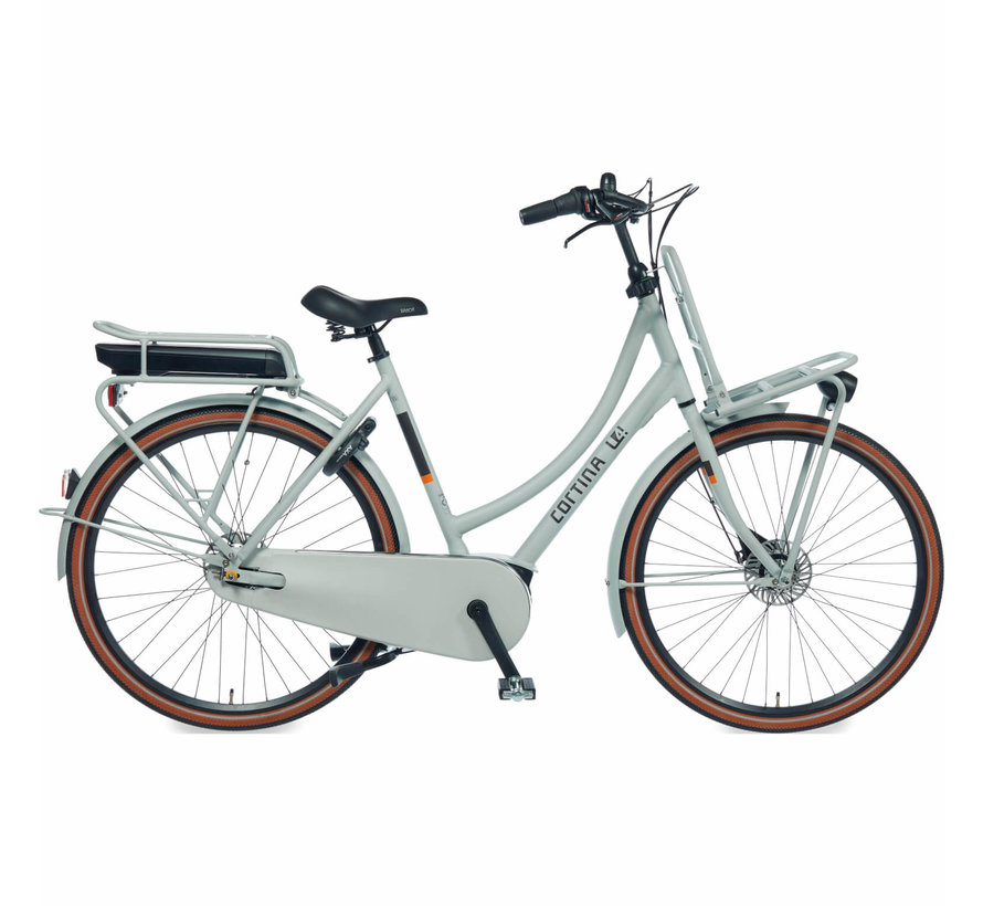 E-U4 elektrische fiets 7V Smooth Grey Matt