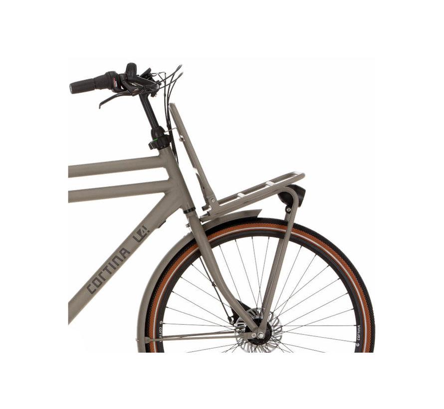 E-U4 Solid electrische fiets 7V Quarz Grey Matt