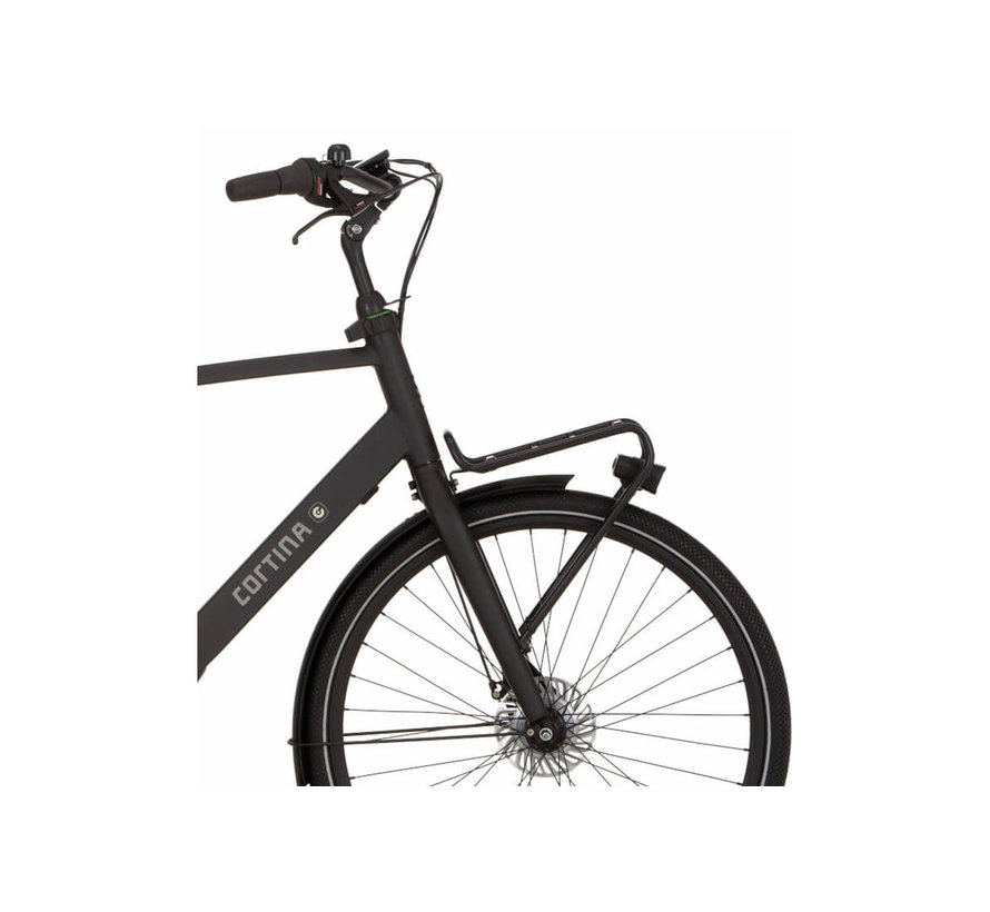 e-Common elektrische fiets 7V Mat Zwart