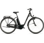 Cube  Export Town Hybrid One 400 elektrische fiets zwart/iridium