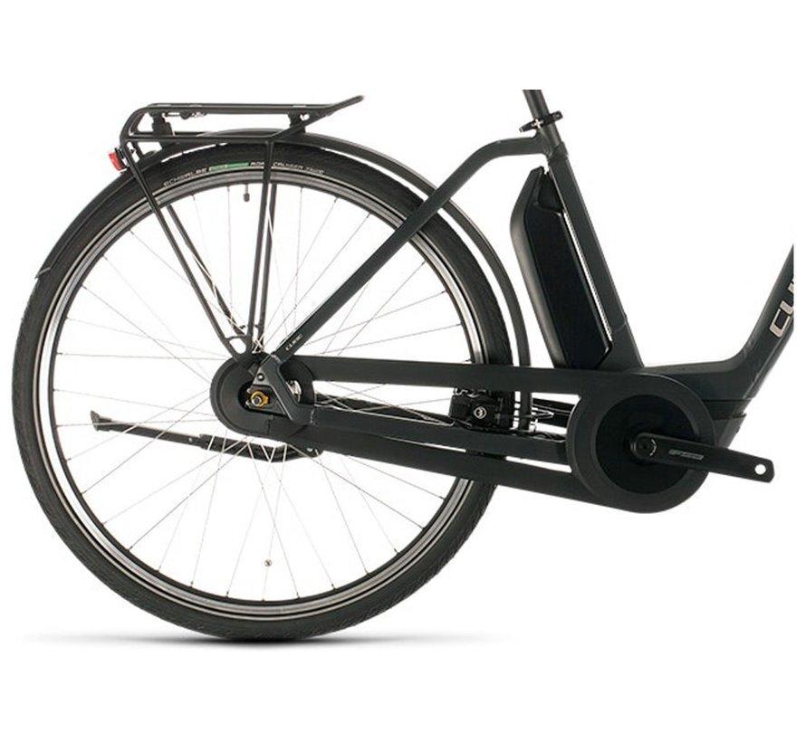 Export Town Hybrid One 400 elektrische fiets Zwart Iridium