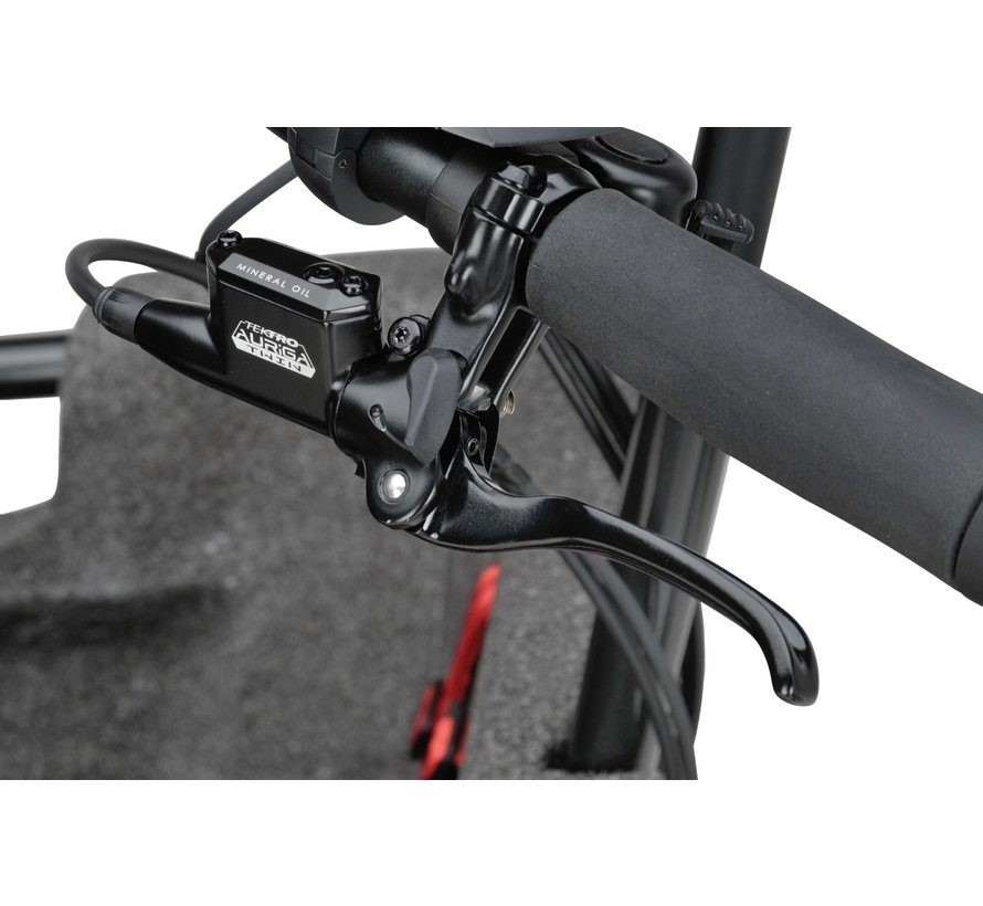 Fier 3 elektrische bakfiets Zwart - Enviolo