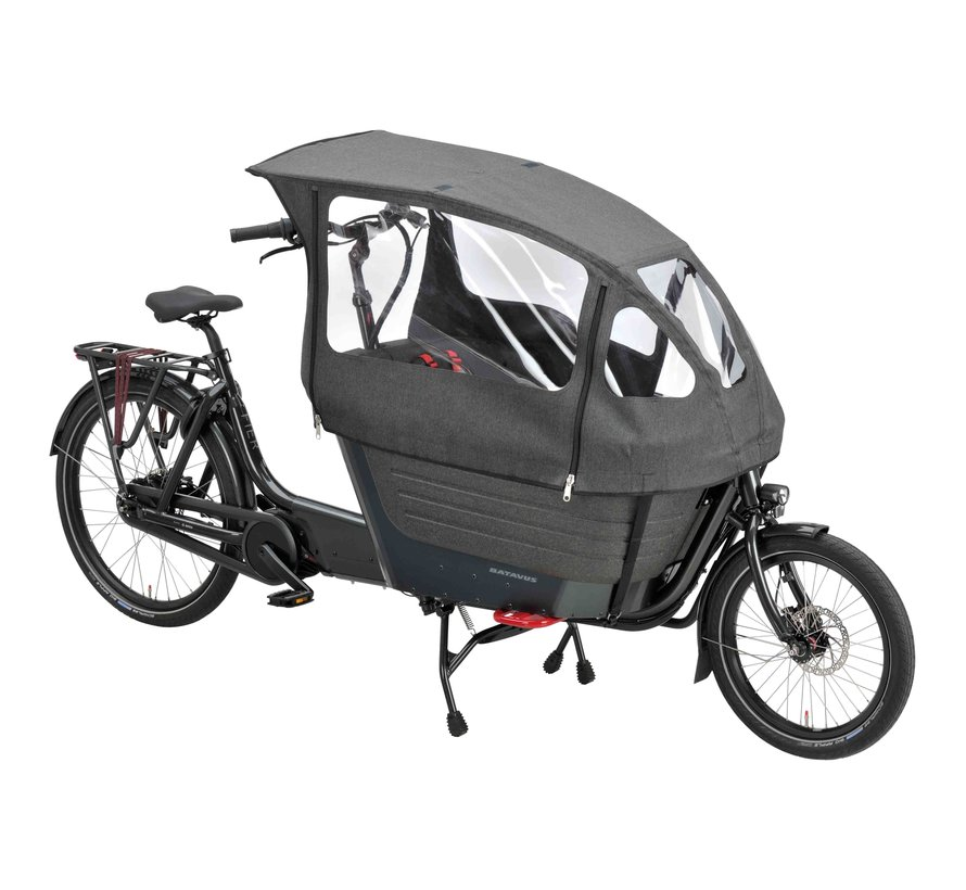 Fier 2 elektrische bakfiets 5V Zwart