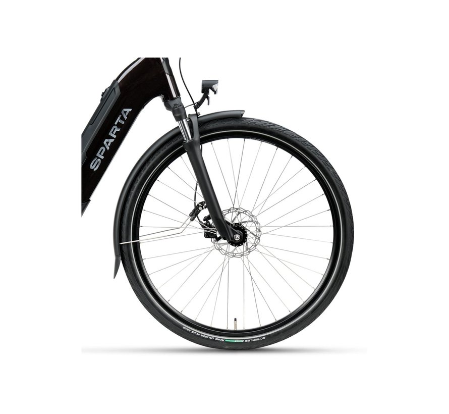 c-Grid Ultra M7Tb elektrische fiets 7V Donkerbruin
