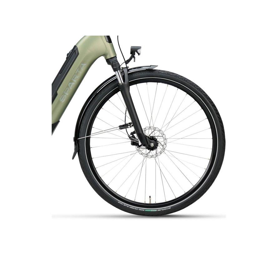 c-Grid Fit M7Tb elektrische fiets 7V Light Olive