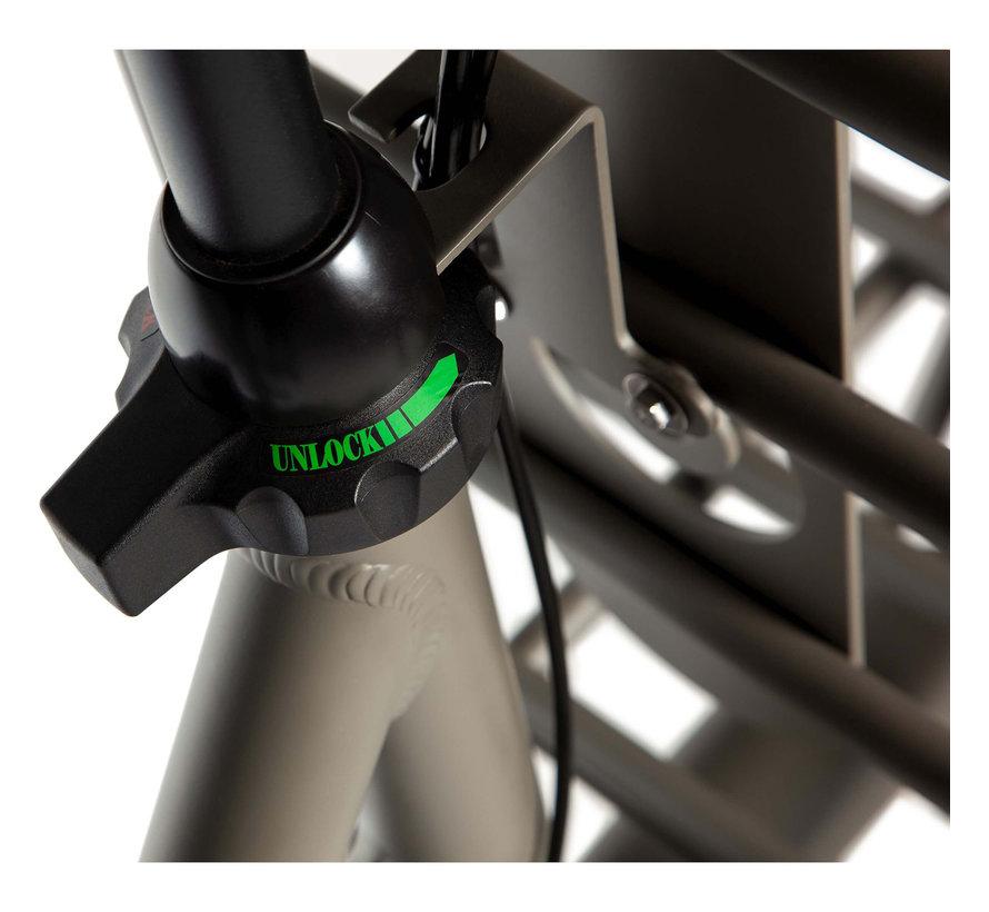 U4 Solid herenfiets 3V Quarz Grey Matt