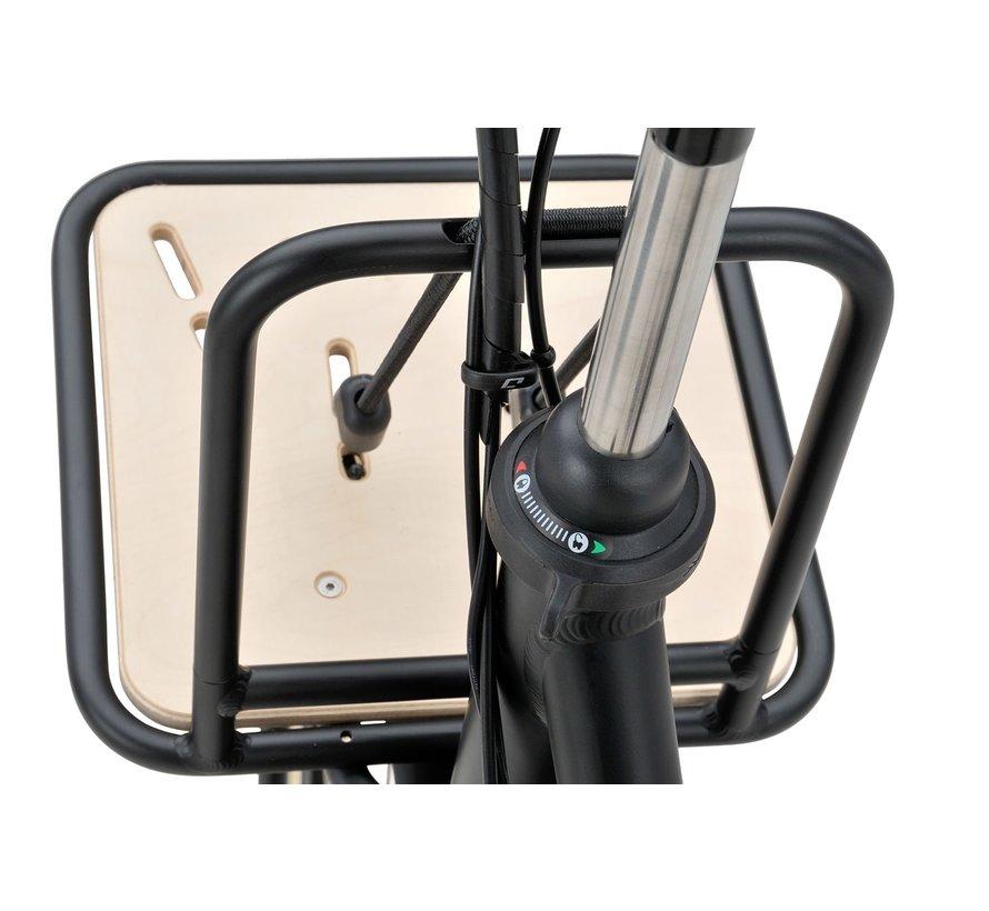 PACKD E-go elektrische fiets 7V Mat Zwart