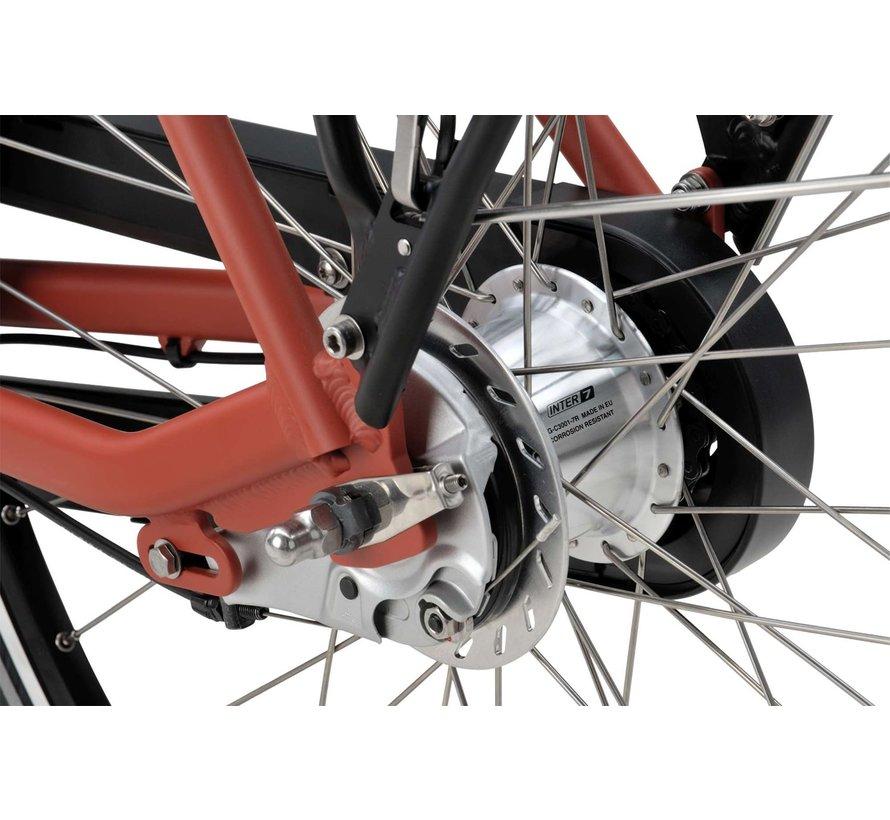 Fonk E-go elektrische fiets 7V Rood Oranje mat