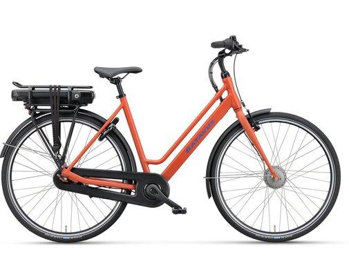 Batavus  Fonk E-go elektrische fiets 7V Rood Oranje mat