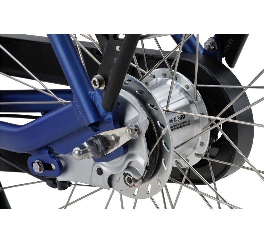 Fonk E-go elektrische fiets 7V Blauw Mat