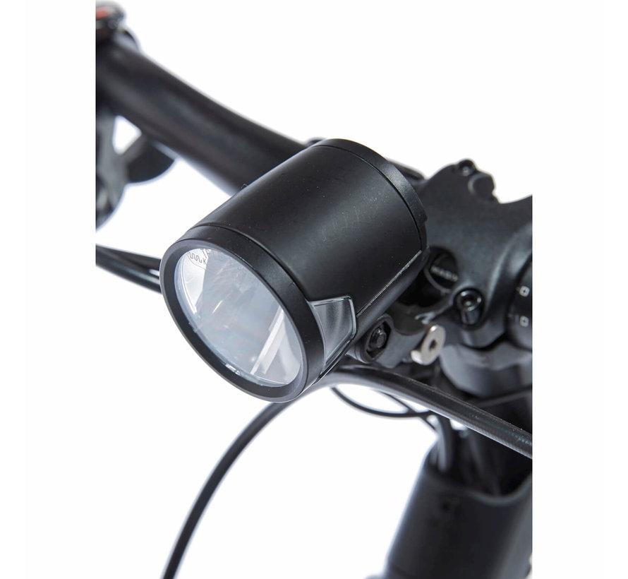 E-Silento Pro elektrische fiets Eclips Zwart 7V - Middenmotor