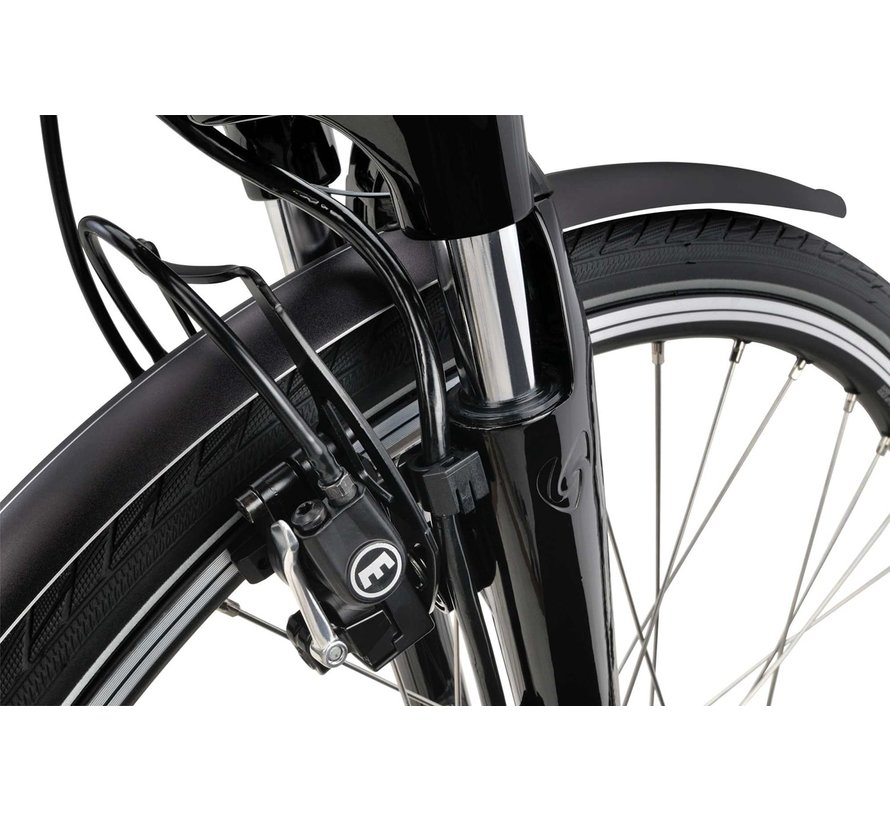 a-Lane elektrische fiets F8e Midgrey - 500wh
