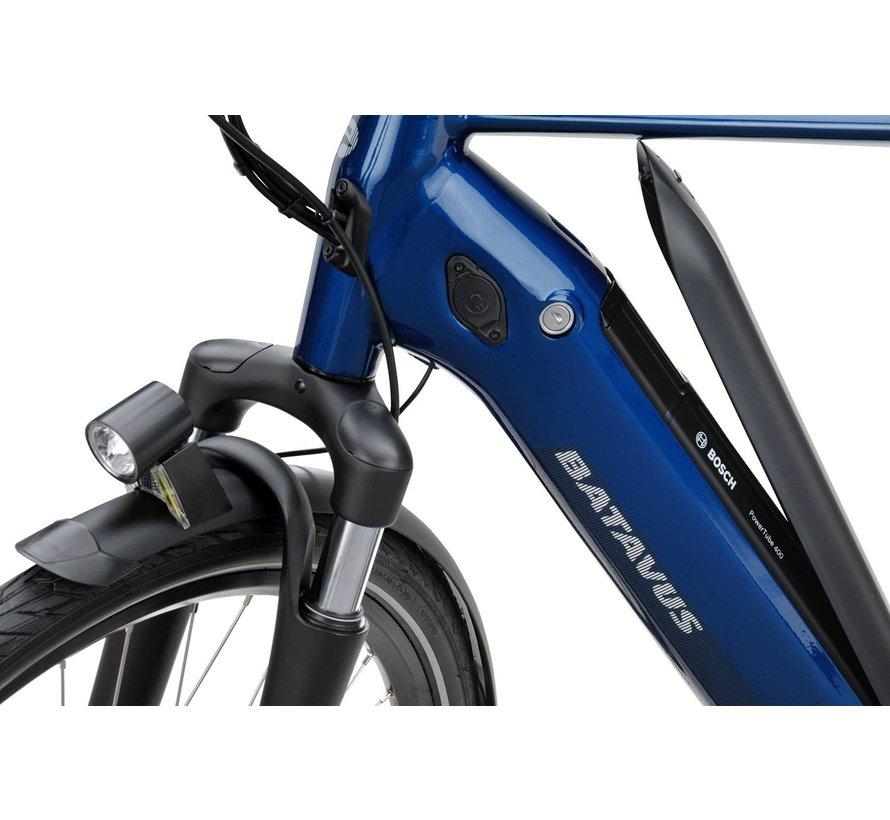 Finez E-go elektrische fiets Belt 8V Blauw - Power exclusive