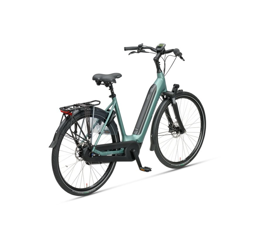 Finez E-go elektrische fiets 8V Petrol Zilver - Power