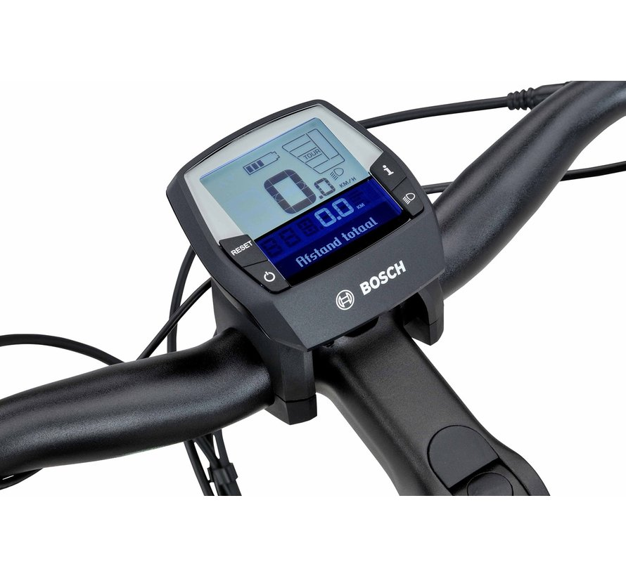 Finez E-go elektrische fiets  8V Sangria Mat - Power